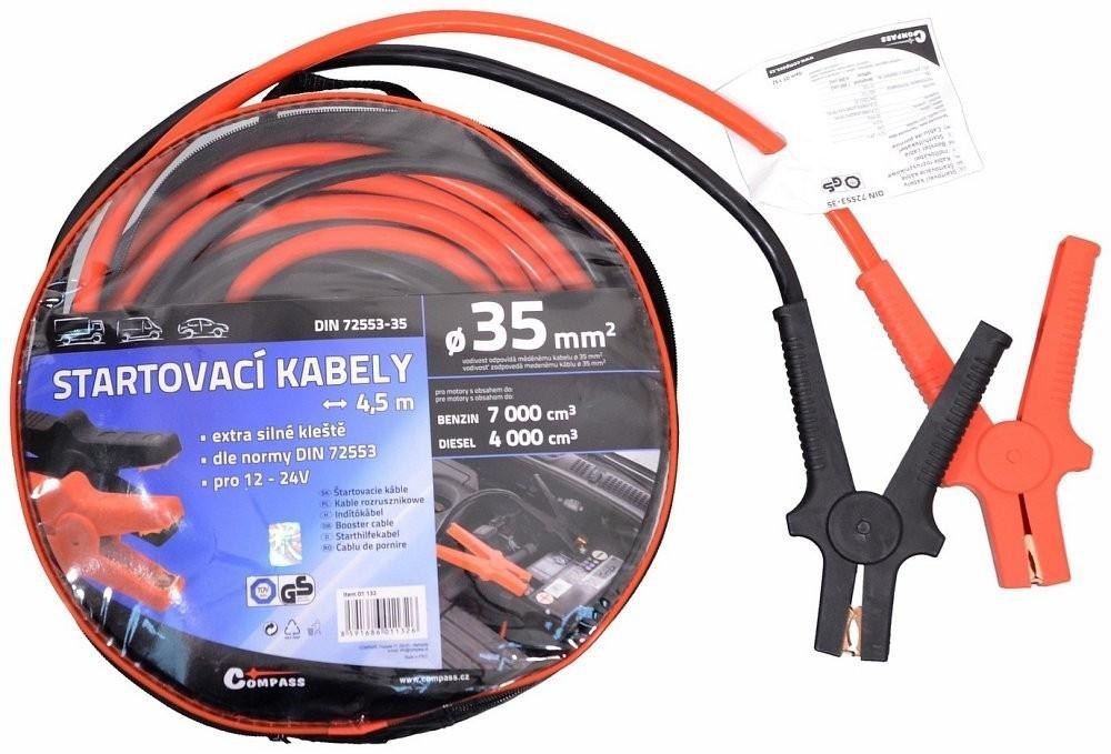 Startovací kabely 35 délka 4,5m TÜV/GS  DIN72553 AHProfi