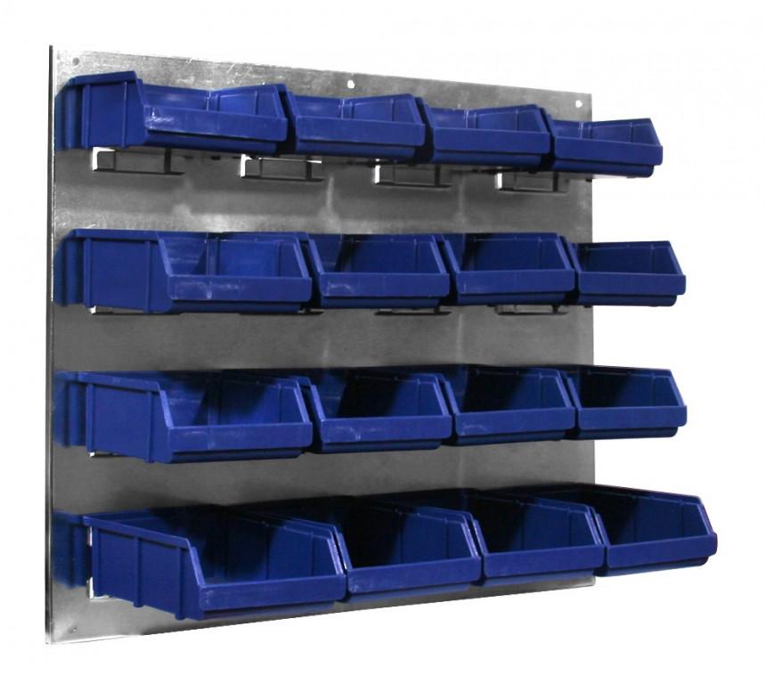 Kovový organizér s plastovými boxy - JJ001231 AHProfi