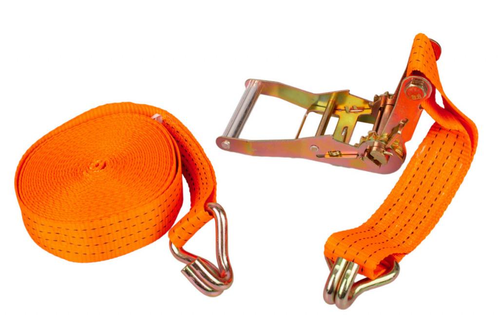 Dvoudílný upínací popruh s ráčnou 50x10000 mm, 1500 daN - HT670301 Hoteche