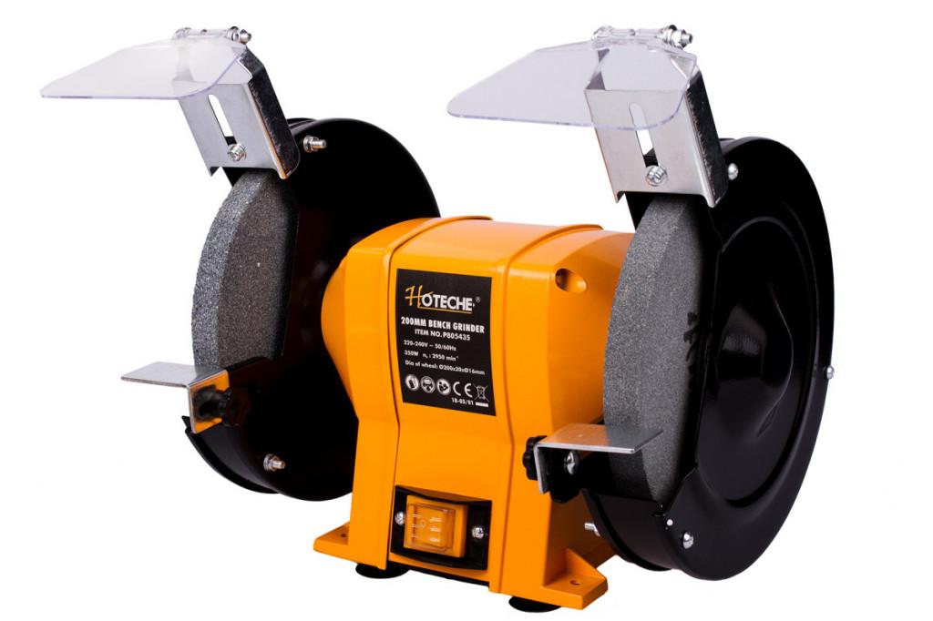 Stolní dvoukotoučová bruska 200 mm, 350 W - HTP805435 Hoteche