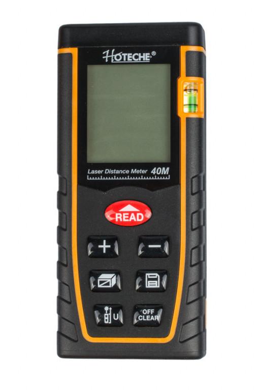 Laserový měřič vzdálenosti 40 m - HT284901 Hoteche