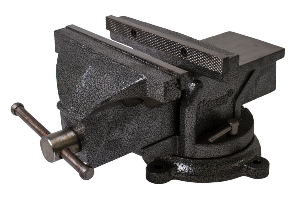 Otočný dílenský svěrák 250 mm, 25,5 kg - HT300106 Hoteche