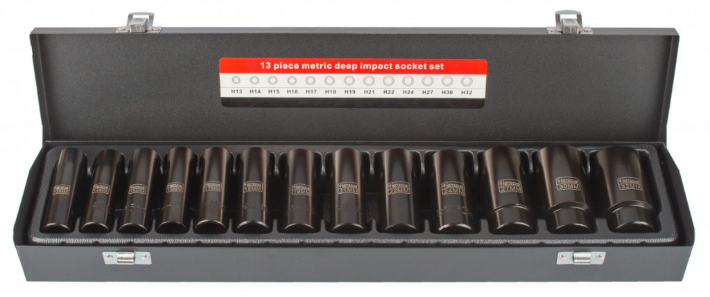 """Sada vnitřních nástrčných klíčů 1/2"""", 13 ks - HT206403 Hoteche"""