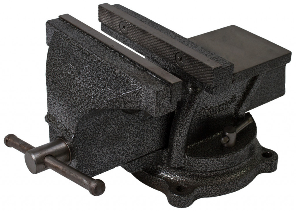 Otočný dílenský svěrák 200 mm, 18 kg - HT300105 Hoteche