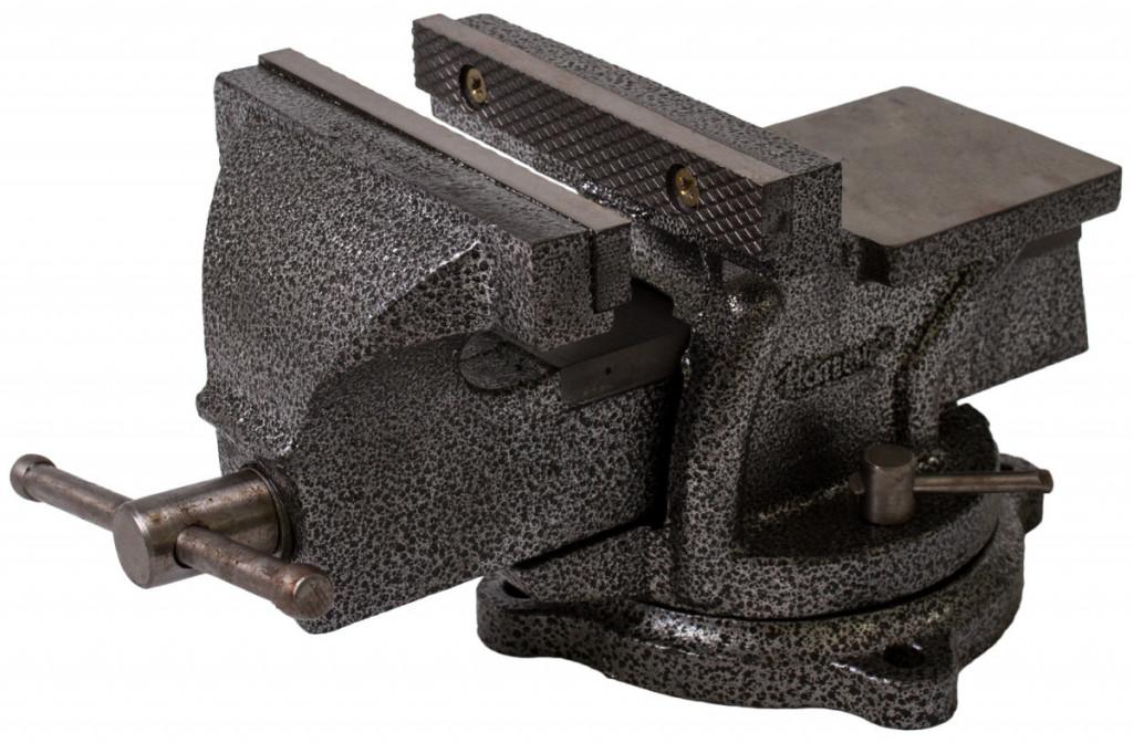 Otočný dílenský svěrák 150 mm, 10,5 kg - HT300104 Hoteche