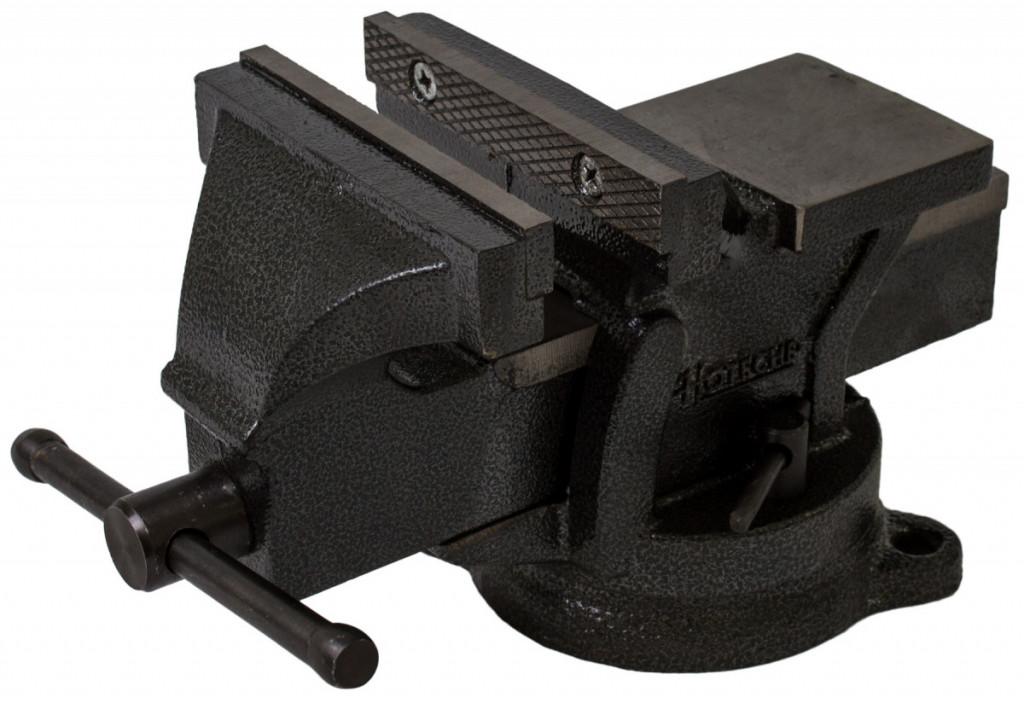 Otočný dílenský svěrák 125mm, 7,5 kg - HT300103 Hoteche