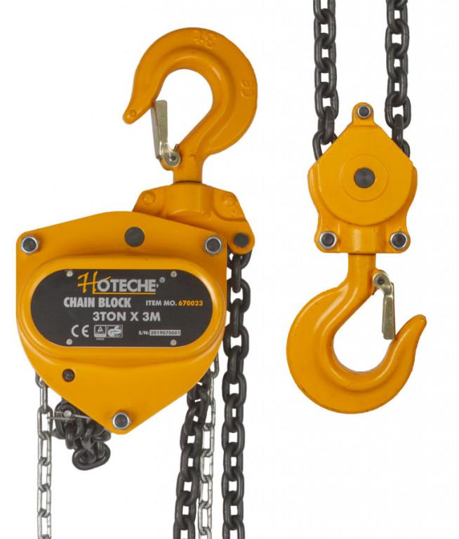 Řetězový kladkostroj 3t - HT670023 Hoteche