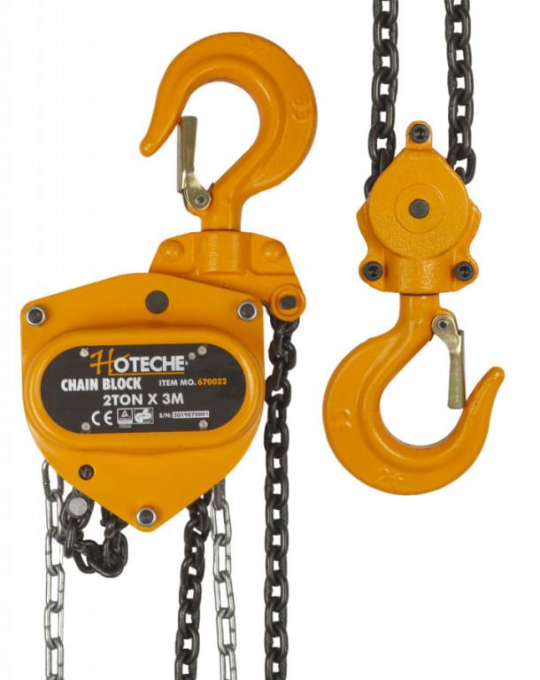 Řetězový kladkostroj 2t - HT670022 Hoteche